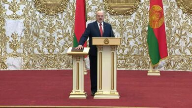 """Photo of Surprise Inauguration is a """"Thieves Meeting"""", Belarus Opposition Said."""